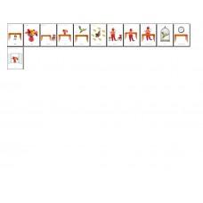 Cartonașe educative - prepoziții